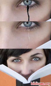 Photoshop'ta gözyaşı çizimi