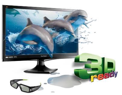 ViewSonic - V3D245wm-LED 24