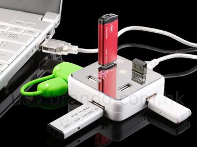 7 portlu USB hub