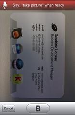 fotoğrafı çekilmiş bir kartvizit
