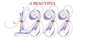 Artistik fontla dönemin son moda tasarımıyla yapılmış bir cart :)