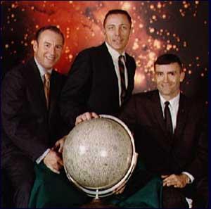 Jim Lovell, Jack Swigert  ve Fred Haise