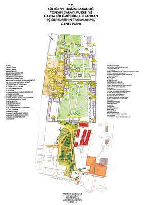 Topkapı Sarayı Haritası