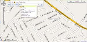 google map maker görünümü