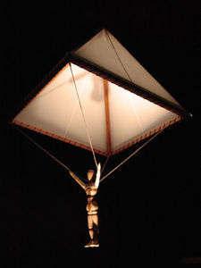 orjinal da vinci modeli paraşüt