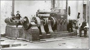 Thomas Edison 'un jumbo dinamosu (jeneratör)