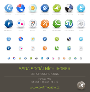 güneş tarzı sosyal paylaşım ikon paketi