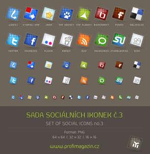 sosyal paylaşım ikon paketi