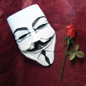 Guy Fawkes mask (V's Mask)
