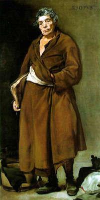 Diego Velázquez'e ait Ezop tablosu