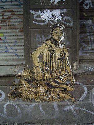Sokak sanatı, tüm dünyada hızlı bir şekilde yaygınlaşan çok popüler bir  sanat türüdür.