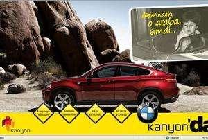 BMW X6 Kanyonda