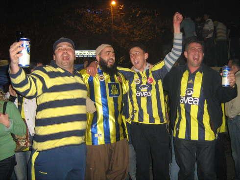 Fenerbahçe Şampiyonluk Sevinç Gösterileri