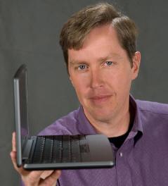 Minik bir laptop şeklinde