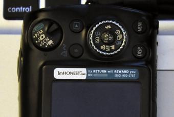 yapıştırmalı fotoğraf makinesi