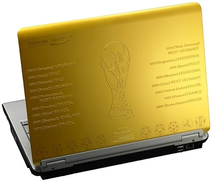 Toshiba Dynabook, World Cup Limited Edition Laptop