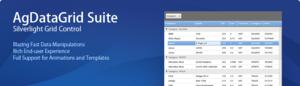 AgDataGrid Suite Ücretsiz Silverlight Grid Kontrolü
