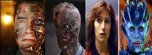 Terminatör & Dark Knight two faces & Farscape : Natira