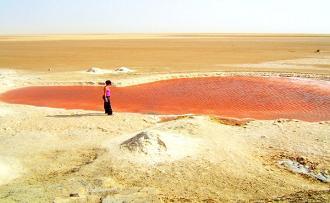 red salt lake - paddino