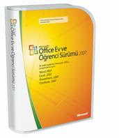 Microsoft Office Ev ve Öğrenci Sürümü 2007