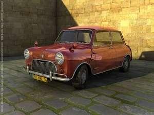 cinema4D 11.5 araba modeli