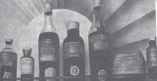 T.C. Uyuşturucu Maddeler İnhisarı tarafından toz ve ekstre halinde satışa sunulan Morfin şişeleri